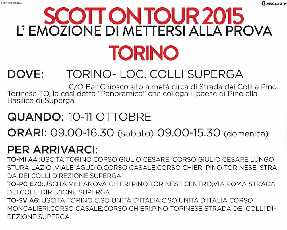 SCOTT ON TOUR TORINO.indd