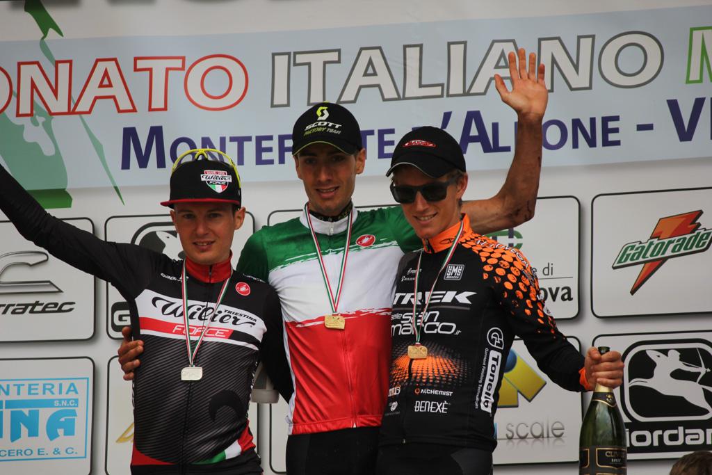 Juri Ragnoli podio Credits Andrini