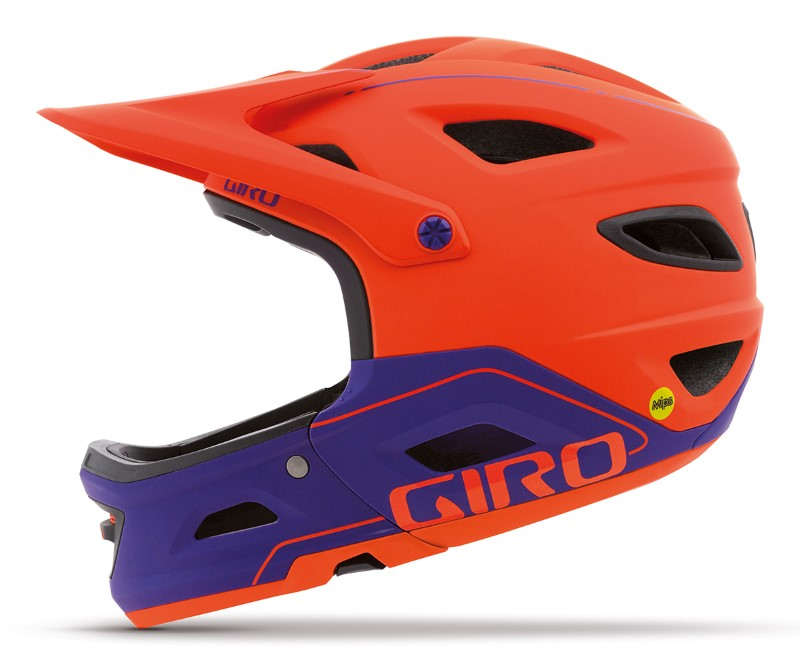 Switchblade-matte vermillion UV purple (Custom)