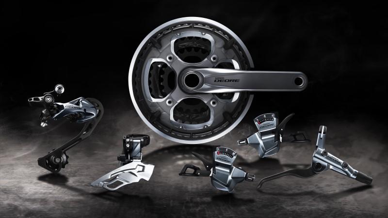 Shimano RD-T8000 XT deragliatore posteriore Trekking 10 velocità