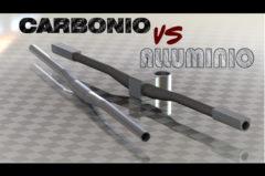 Manubrio: CARBONIO vs ALLUMINIO