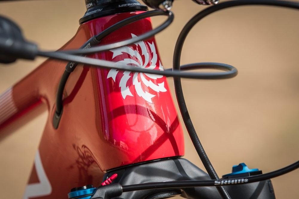 Lee Cougan Rampage Air LTD Furious Red