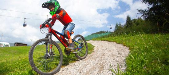 Apre MonteBike, il bike park per i giovanissimi, a Montecampione (BS)