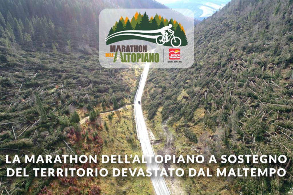 La Marathon dell'Altopiano a sostegno del territorio devastato dal maltempo