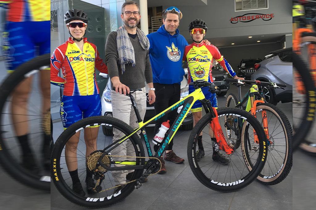 El Ray torna in gruppo con il team UCI Vallerbike