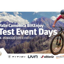 Valle Camonica BIKEnjoy, presenta i Test Days – 4/5 maggio 2019