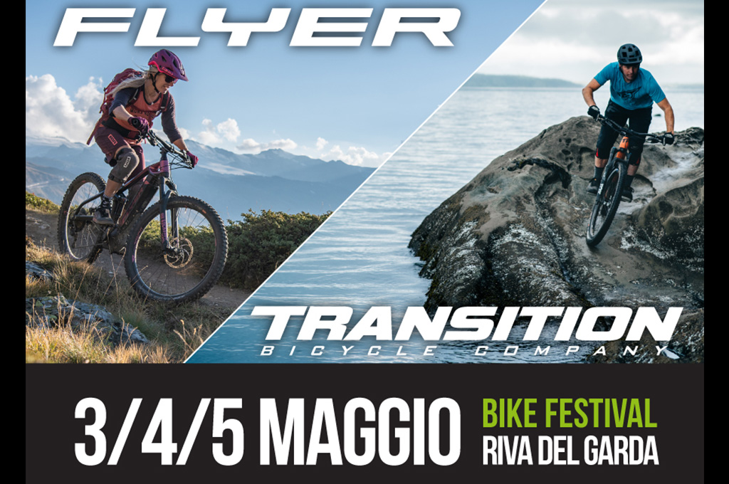 Transition e Flyer in test al Bike Festival Riva del Garda Trentino