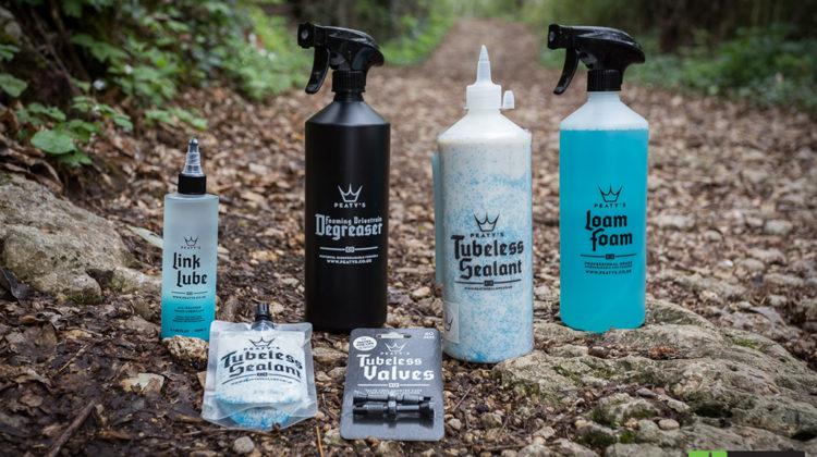 TEST prodotti PEATY'S: detergente, sgrassante, lubrificante, sigillante e valvole
