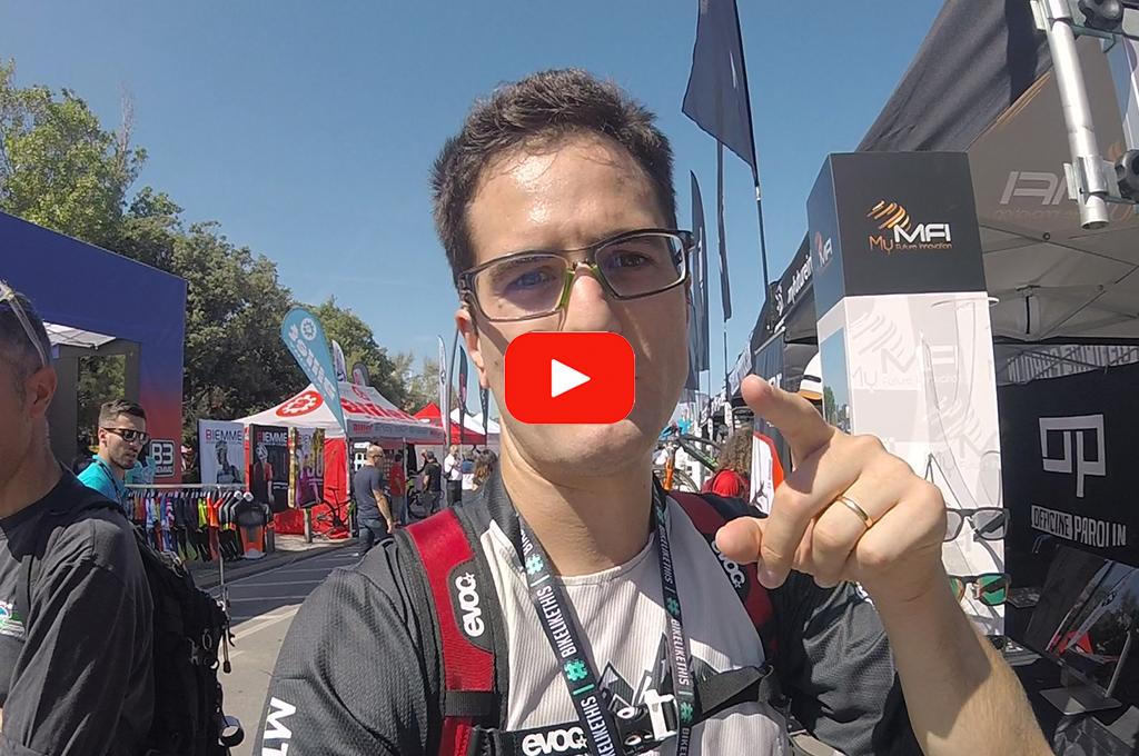 Innovativi caschi MFI visti all'Italian Bike Festival