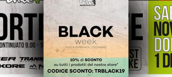 Black Friday week TRIBE DISTRIBUTION -> codice sconto