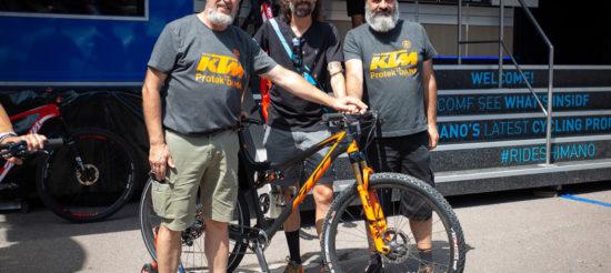 Shimano Italia e KTM Protek Dama: assieme nella stagione 2020