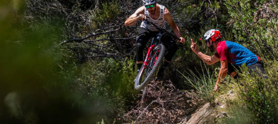 VIDEO – Shred City Nice with Fabien Barel, Dimitri Tordo, Florian Nicolai on the Canyon Strive