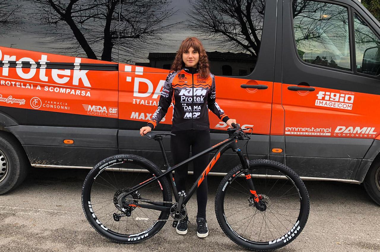 Marika Tovo al team KTM PROTEK DAMA