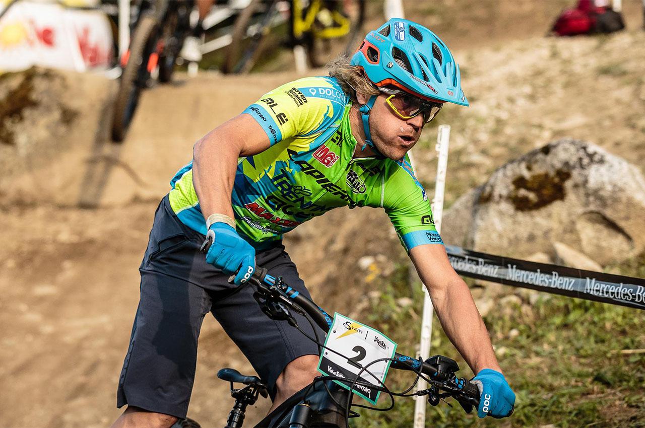 Martino Fruet, la novità della Winter Downhill 2020