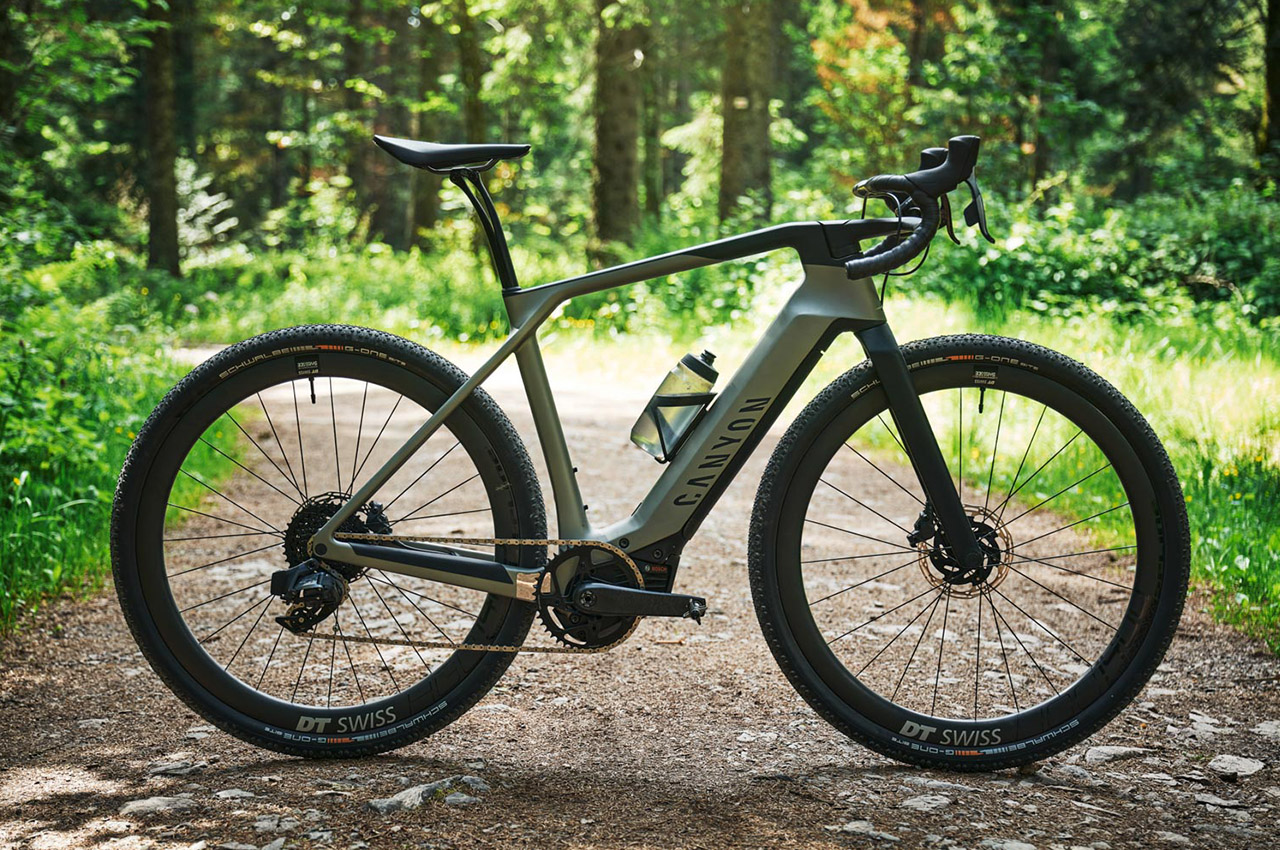 CANYON GRAIL:ON, la nuova E-GRAVEL