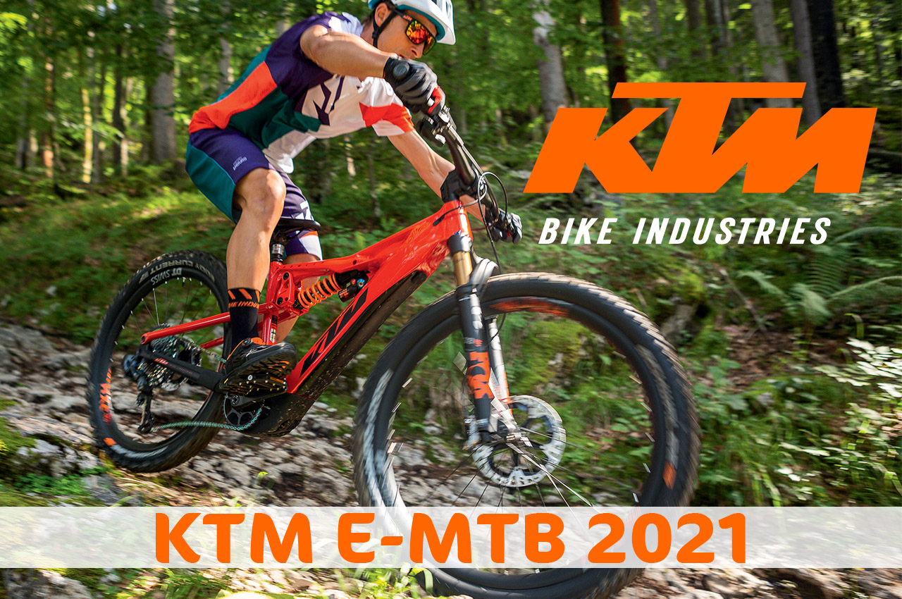 ANTEPRIMA KTM eMTB 2021 – novità e aggiornamenti delle ebike KTM