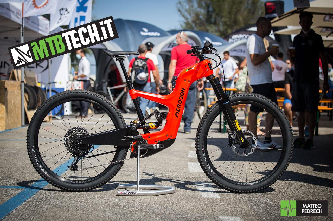 ebike PIEROBON M50 👉PROTOTIPO👈 @ Italian Bike Festival