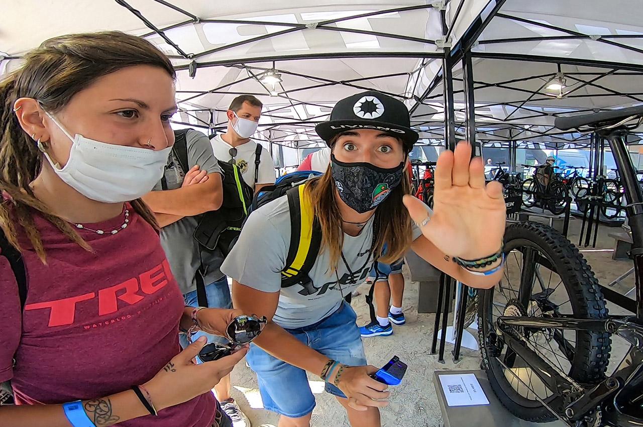 TREK SLASH 2021 con Alia Marcellini e Jessica Bormolini❗ [Italian Bike Festival]