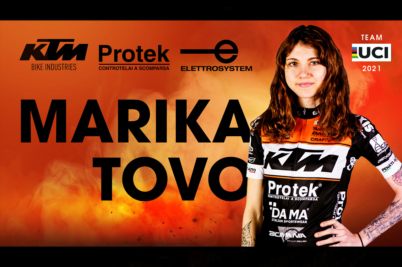 Confermata Marika Tovo nel Team KTM Protek 2021