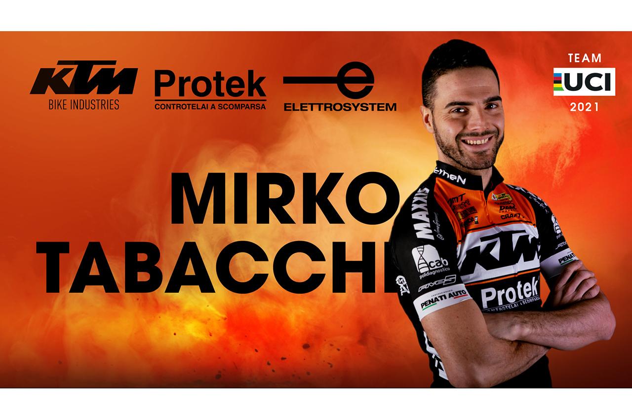 """""""il capitano"""" MIRKO TABACCHI continua con KTM PROTEK ELETTROSYSTEM"""