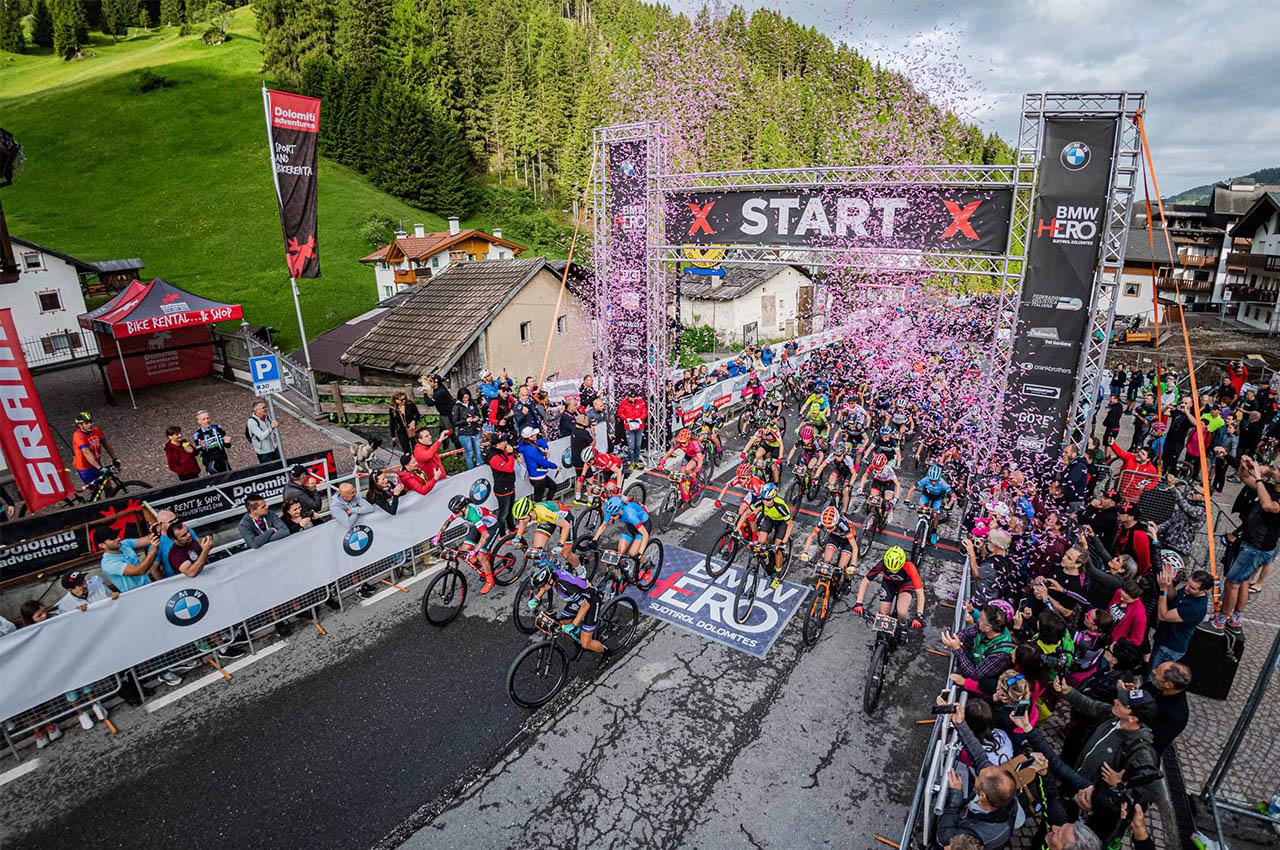 Torna la maratona di mountain bike nel bel mezzo delle Dolomiti