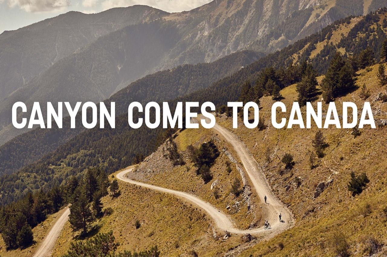 CANYON BICYCLES, novità in Canada!