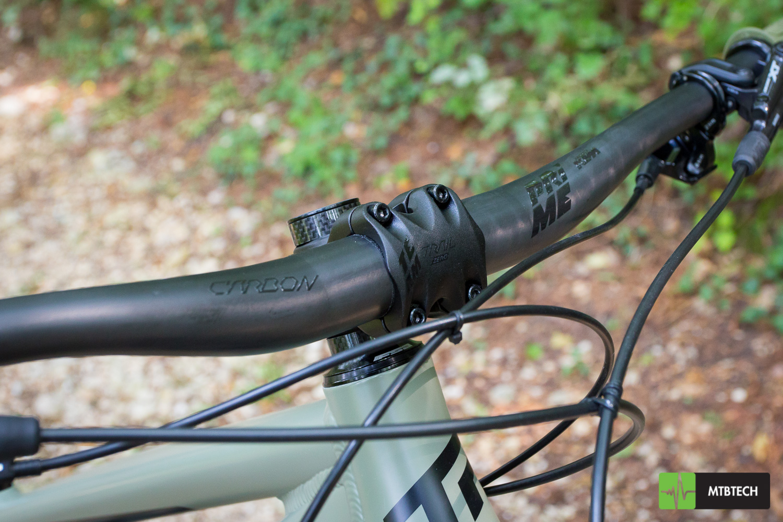 [TEST] manubrio KTM Prime Trail in carbonio e stem KTM Team