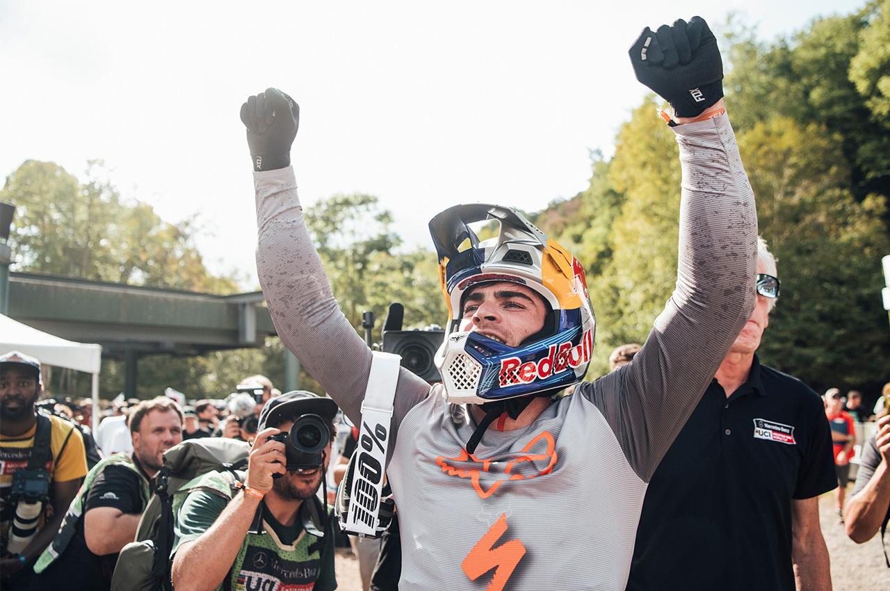 Coppa del Mondo MTB SNOWSHOE: Braidot ai piedi del podio!